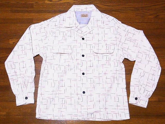 スタイルアイズ オープンシャツ NEP PRINT SE27992