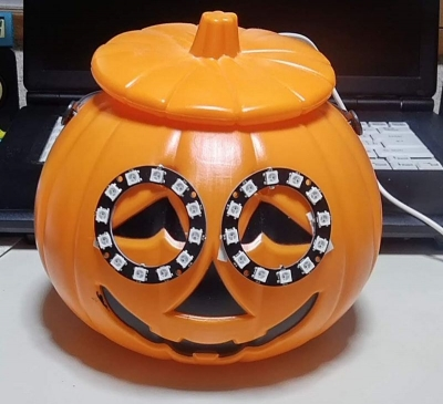 かぼちゃ電飾1