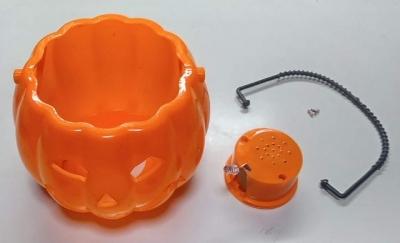 笑って光るかぼちゃ分解