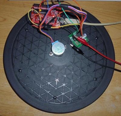 ダイソー回転台_arduinoとモータードライバ