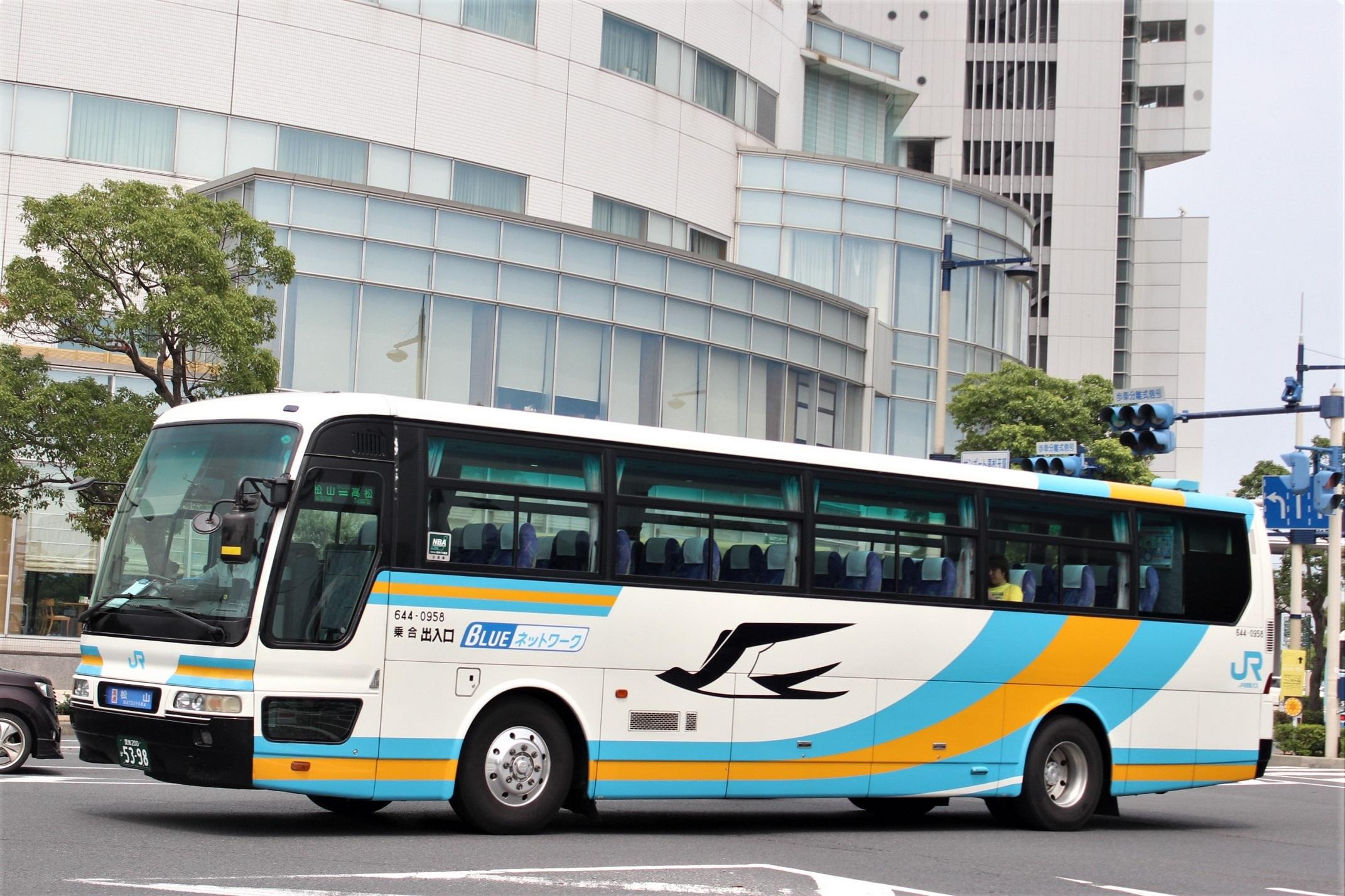 JR四国バス 644-0958