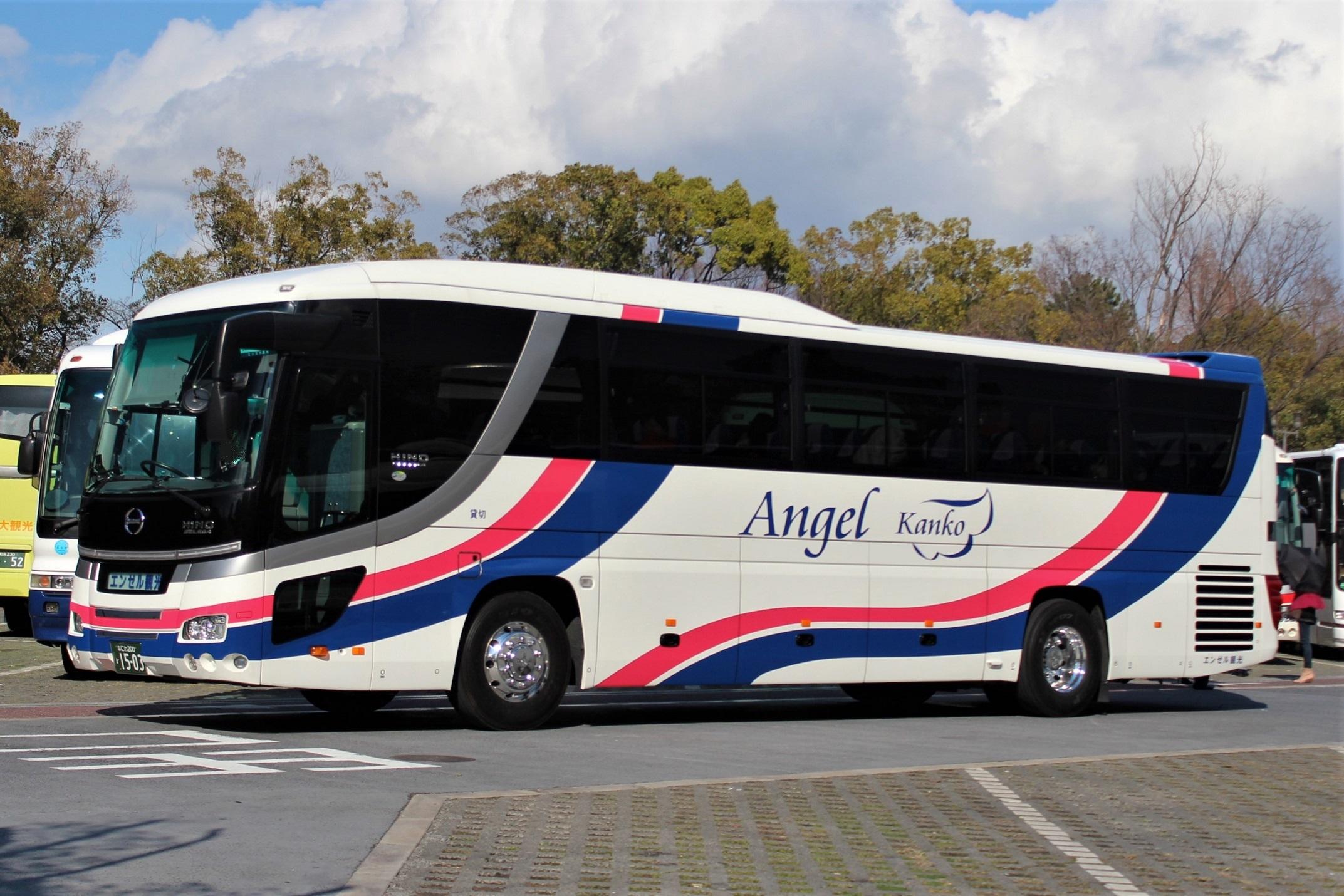 エンゼル観光バス か1503