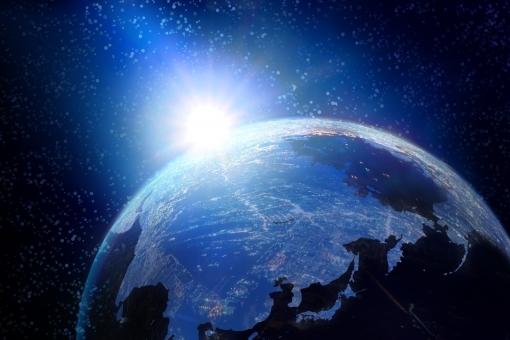 フリー写真 地球