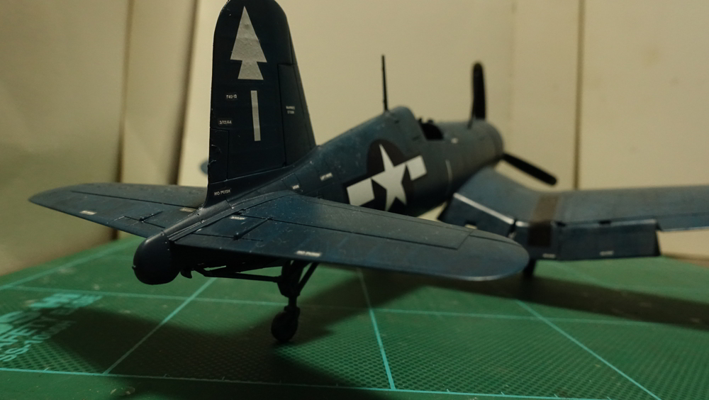 タミヤの傑作機シリーズ No.061 アメリカ軍 F4U-1D コルセア スケッチ
