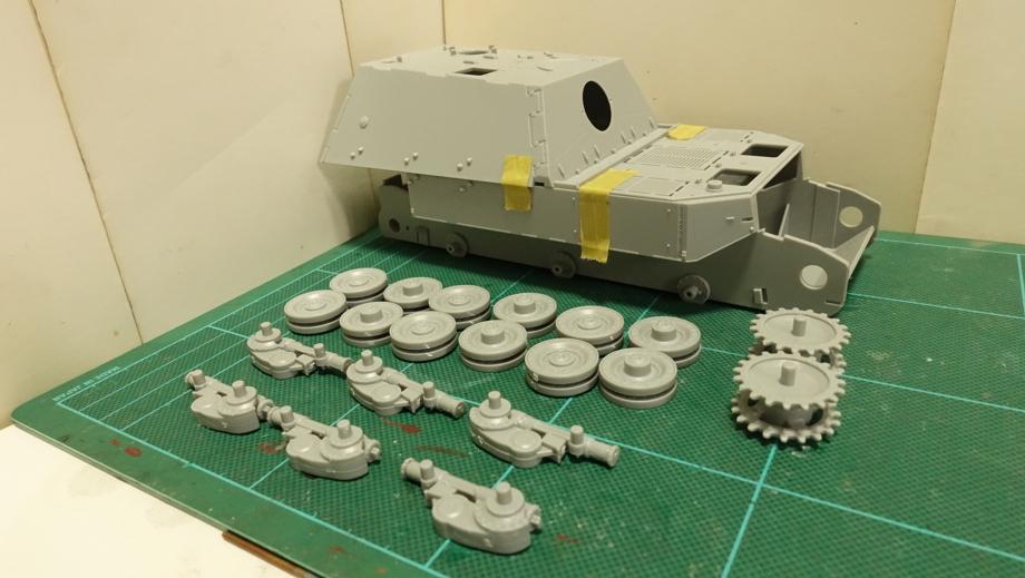 ドラゴンのDR6133 ドイツ軍 フェルディナント 重駆逐戦車 その2