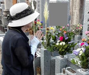 お墓参りblog01
