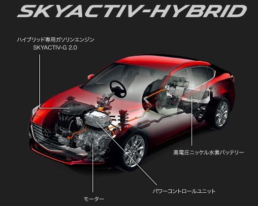 【MAZDA】アクセラ ハイブリッド 「人馬一体」と低燃費が融合したハイブリッドカー (3)