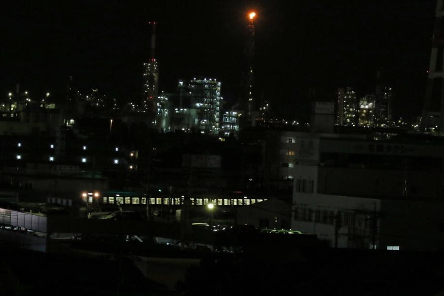 2018-8-夜景と近鉄電車T84A7872