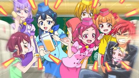 【HUGっと!プリキュア】第30話「世界一周へGOGO!みんなの夏休み!」03