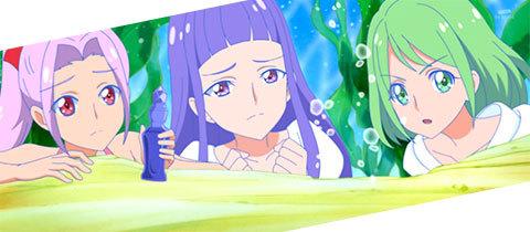 【HUGっと!プリキュア】第32話「これって魔法?ほまれは人魚のプリンセス!」09