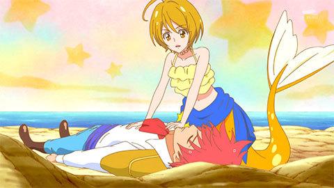 【HUGっと!プリキュア】第32話「これって魔法?ほまれは人魚のプリンセス!」07