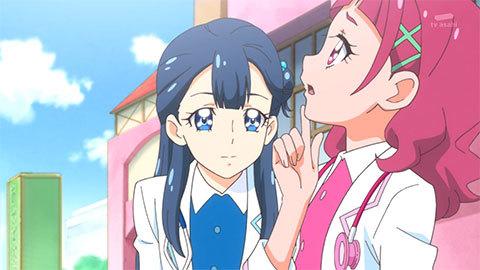 【HUGっと!プリキュア】第35話「命の輝き!さあやはお医者さん?」08