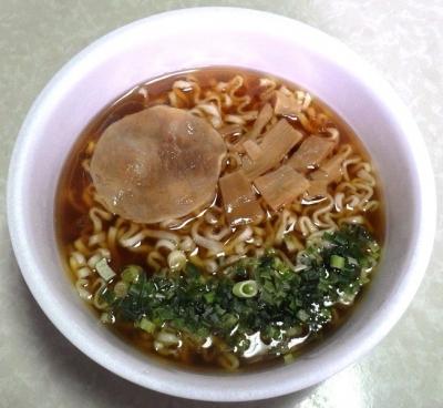 8/6発売 らぁ麺紫陽花 醤油らぁ麺(できあがり)