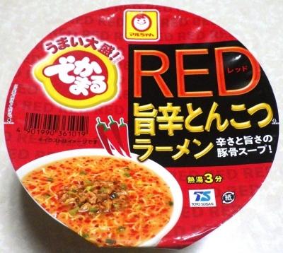 8/13発売 でかまる RED 旨辛とんこつラーメン
