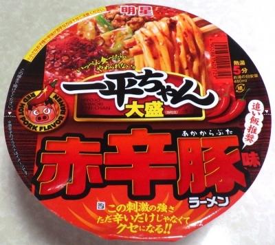 8/6発売 一平ちゃん 大盛 赤辛豚味ラーメン
