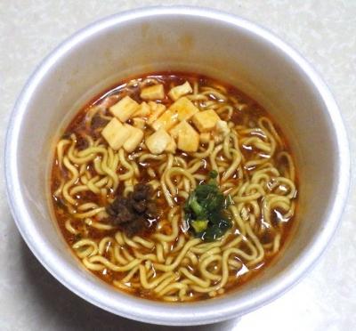 9/3発売 スーパーカップ1.5倍 バーミヤン監修 刺激のコク旨麻婆麺(できあがり)