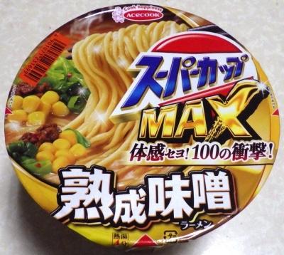 9/24発売 スーパーカップMAX みそラーメン
