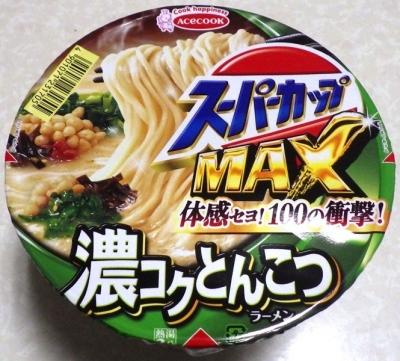 9/24発売 スーパーカップMAX とんこつラーメン