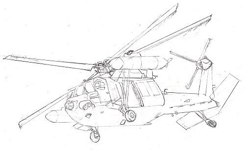 UH-60J 今日ものんびりと 2018/09/26