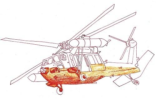 UH-60J 今日ものんびりと 2018/10/02