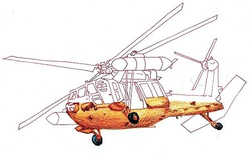 UH-60J 今日ものんびりと 2018/10/04