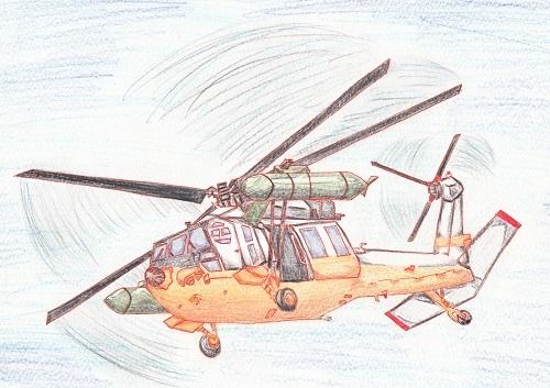 UH-60J 今日ものんびりと 2018/10/09