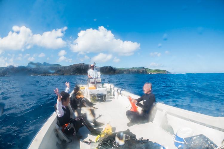 辺戸岬ダイビング 4