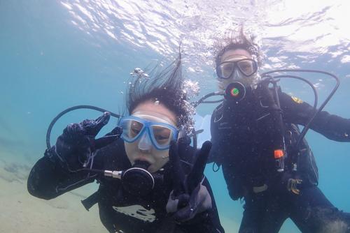 名護市で体験ダイビング4