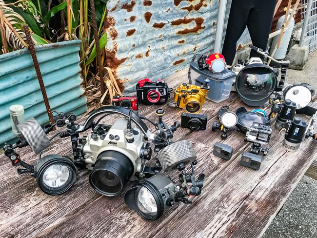水中写真で使う器材 11