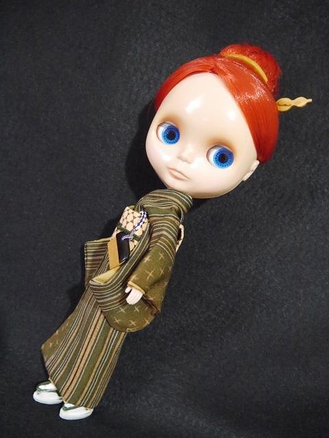 人形用つげ櫛