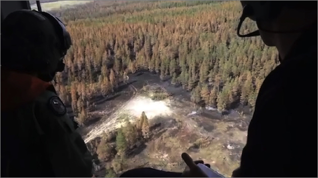 sb-sf-03爆弾投下による消火を確認