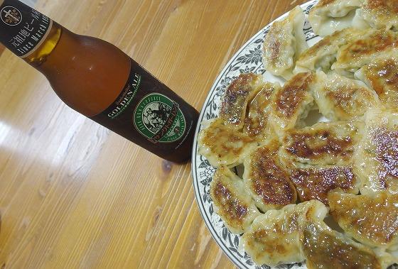180828厚木ビールと餃子