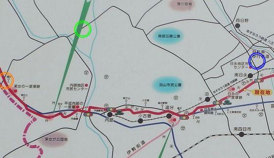 180630旧東海道の南日永地図-5