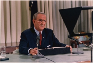 President LBJ speech decision not to run for re-election