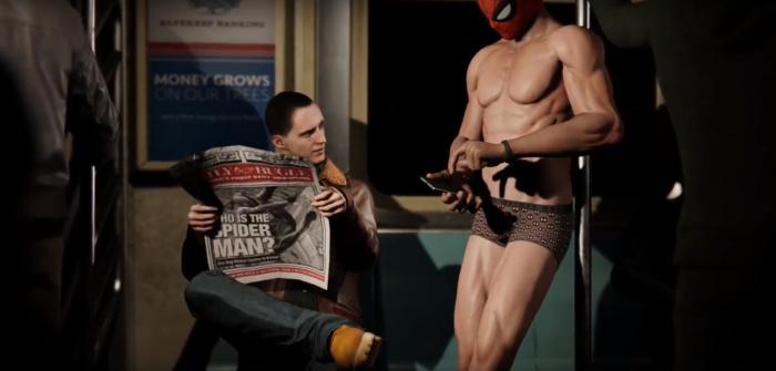 スパイダーマン ゲイ