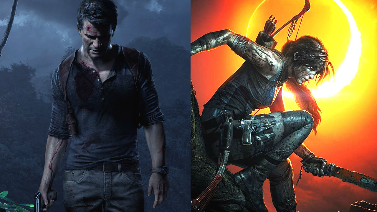 PS4の最高傑作『アンチャーテッド4』とXbox One『シャドーオブトゥームレイダー』 どっちのグラが凄い!?