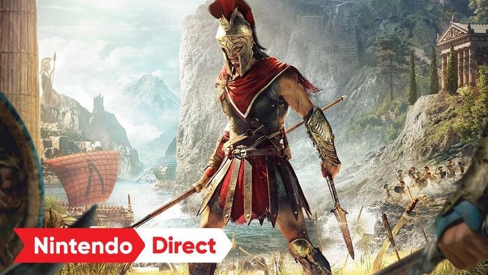 アサクリ最新作が、クラウドゲームで!Nintendo Switch『アサシン クリード オデッセイ - CLOUD VERSION』10月5日発売。
