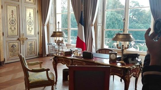 大統領官邸、エリゼ宮の中