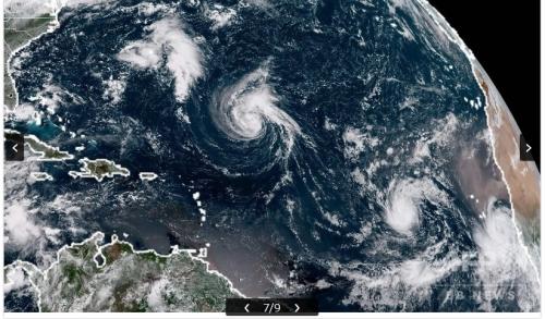 20180911 大西洋のハリケーン