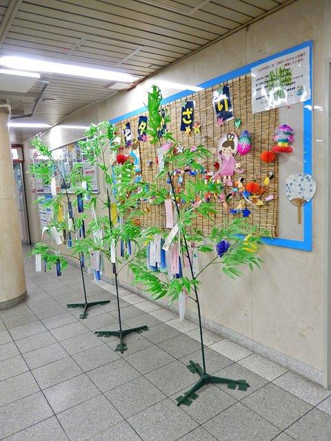 三宮駅連合の七夕
