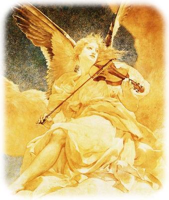 バイオリン天使