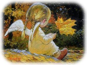 秋の天使ちゃん