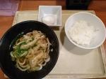 モーニングセット@麺亭しおつる