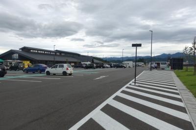道の駅 米沢 駐車場