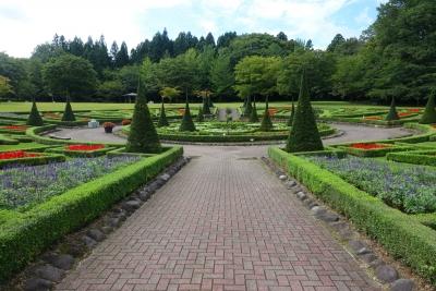 四季の里 円形花壇