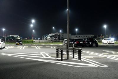 道の駅まくらがの里こが 駐車場