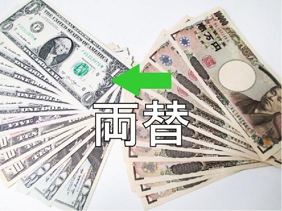 円からドルへ ドルから円へ