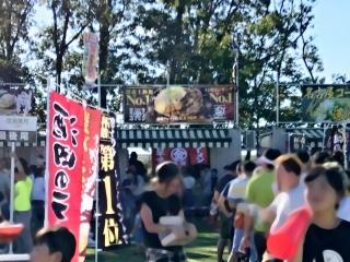 つくばラーメンフェスタ2018 味噌のジョー × マルキン本舗 (1)