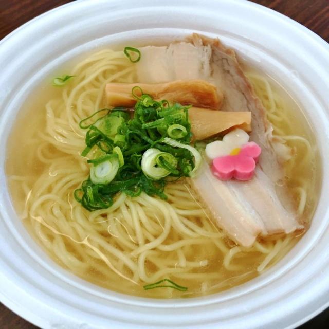 つくばラーメンフェスタ2018鯛塩そば灯花 (1)