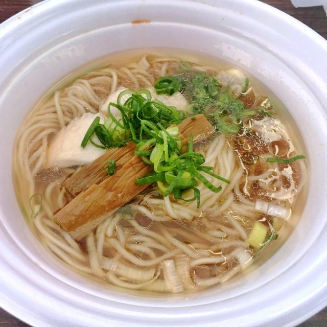 つくばラーメンフェスタ2018特級鶏蕎麦 龍介 × 塩らーめん 千茶屋 (3)
